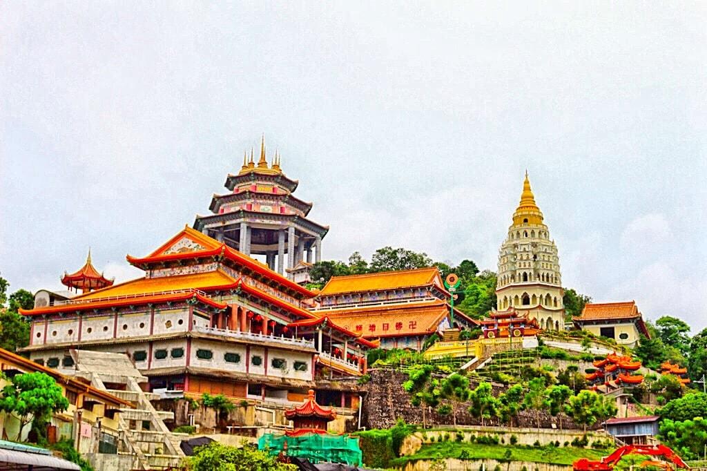 معبد Kek Lok Si مالزی